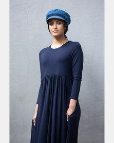 Sarah Feldman Atarah Dress Navy