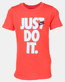 Nike B NSW JDI Stack Tee Red