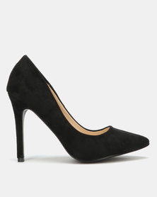 Utopia Microfibre Pointy Court Black