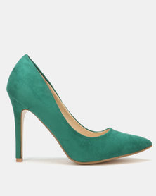 Utopia Microfibre Pointy Court Green