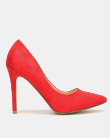 Utopia Microfibre Pointy Court Red