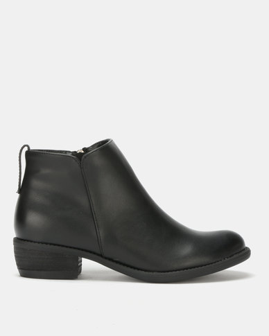 Utopia Ankle Boots Black