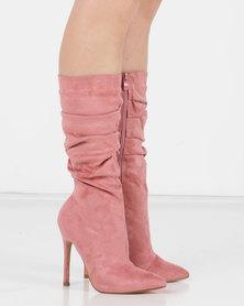 Utopia Shuffle Boots Pink