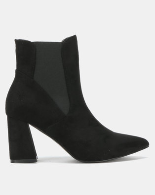 Utopia Gusset Flare Boot Black