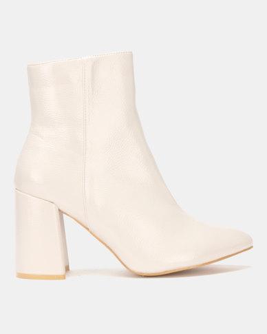 Utopia Patent Boot White