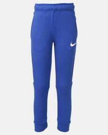 Nike B NK DRY Taper Pants Fleece Blue