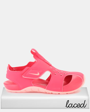 028d99425712 Nike Sunray Protect 2 Pre-School Shoes Pink