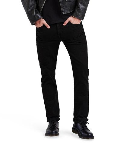 511™ Slim Fit Jeans Black