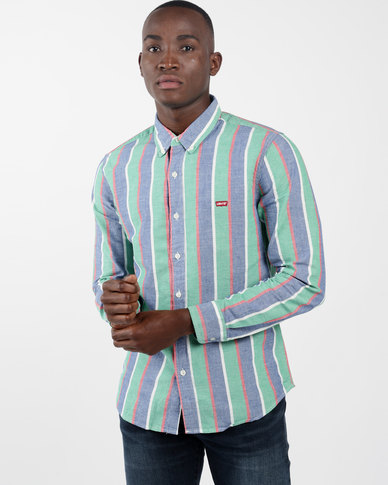 Classic No Pocket Shirt Multi