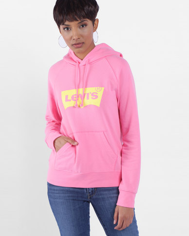 Graphic Hoodie Pink