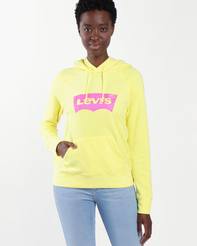 Graphic Hoodie Yellow