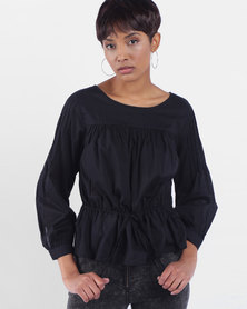 Rosie Top Black