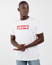 Relaxed Graphic Tee White