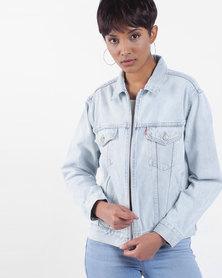 Ex-Boyfriend Zip Trucker Jacket