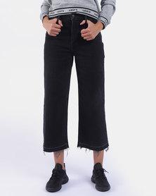 Mile High Wide Leg Jeans Black