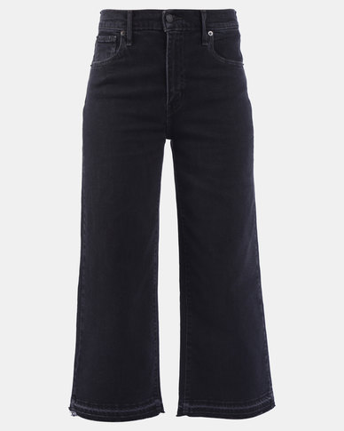 Mile High Wide Leg Jeans Black