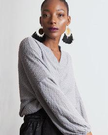Marique Yssel Dorado Bishop Top & Ani Bralette 2 Piece - Grey