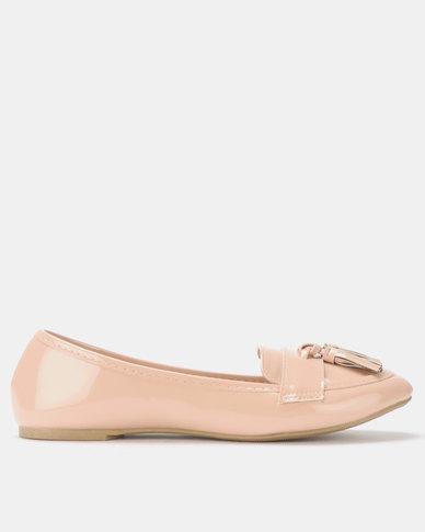 Legit Loafer with Tassel Detail Blush