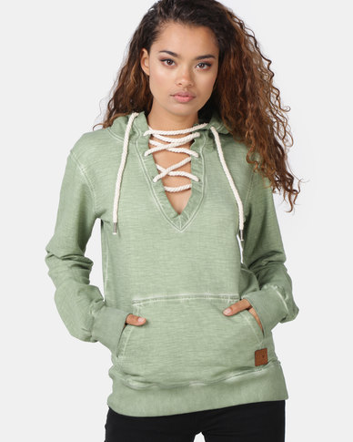 Lizzy Margaux Hoodie Green
