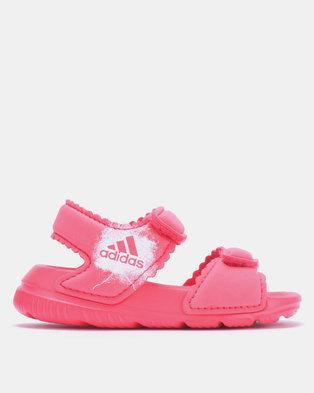 199e3bd15 adidas Originals Altaswim Slides Pink