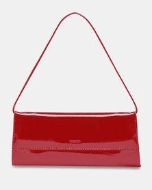 Picard Auguri Evening Clutch Handbag Red Lacquer