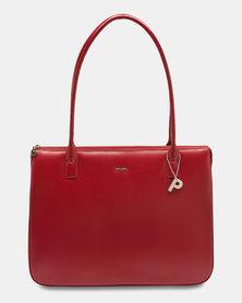 Picard Promotion 5 Leather Shopper Handbag Red