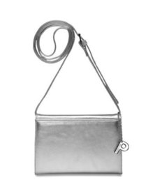 Picard Auguri Leather Evening Shoulder Handbag Silver