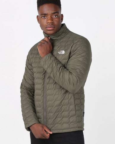 e0f431968 The North Face Thermoball Jacket Taupe Green