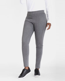 Contempo Ponte Leggings Grey