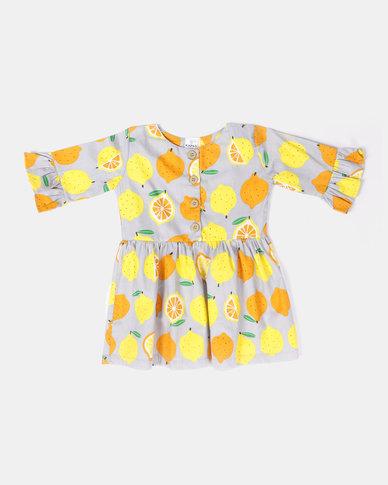 Kapas Quincy Dress Lemon