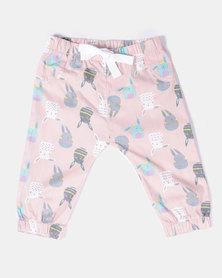 Kapas Pants Bunnies Pink