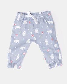 Kapas Pants Bears Grey