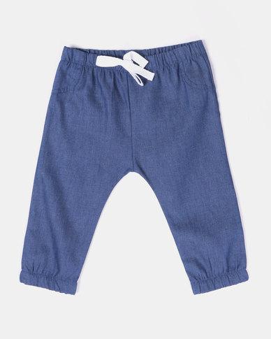 Kapas Denim Pants Blue