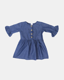 Kapas Girls Quincy Dress Denim