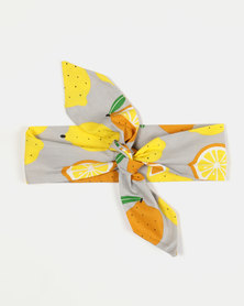 Kapas Knot Headband Lemons Yellow