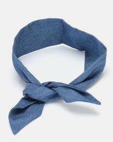 Kapas Knot Headband Denim
