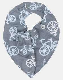 Kapas Dribble Bib - Bicyles Grey