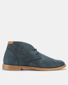 Pierre Cardin Lace Up Shoes Navy