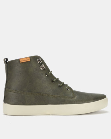 Pierre Cardin  Sneakers Olive/Grey