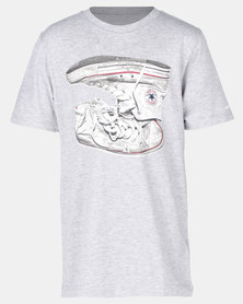 Converse Sneaker Stack Tee Grey