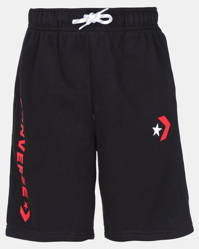 Converse CTP French Terry Shorts Black