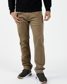 502™ Regular Taper Fit Pants Brown