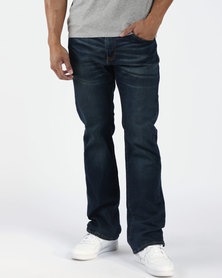 527™ Slim Bootcut Jeans Blue
