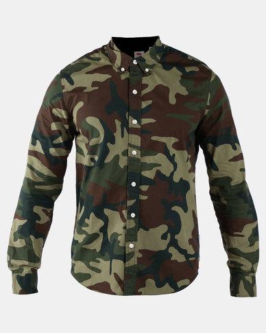 Classic No Pocket Shirt Green