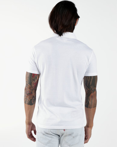 Sunset Polo Shirt White