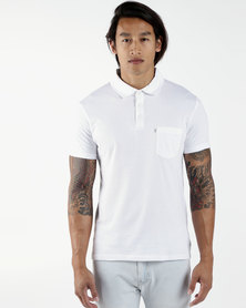 Sunset Polo Shirt White