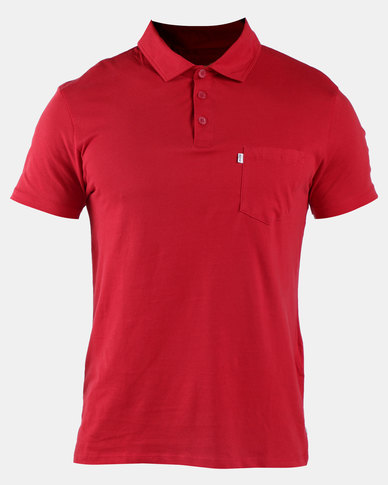 Sunset Polo Shirt Red
