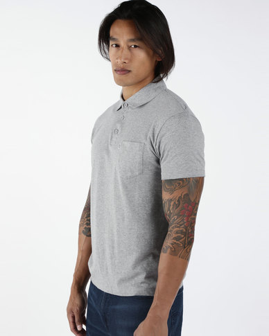 Sunset Polo Shirt Grey