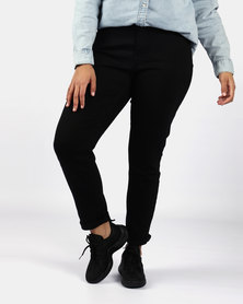 311 Shaping Plus Size Skinny Jeans Black