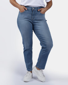 311 Plus Size Shaping Skinny Jeans Blue
